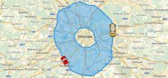 Карта МКАД propusk-vsem.ru